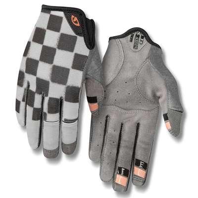 d60fd71424d306 Rękawiczki damskie GIRO LA DND długi palec checkered peach roz. XL (NEW)